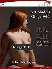figure drawing pose Kindle ebook for Ginger040